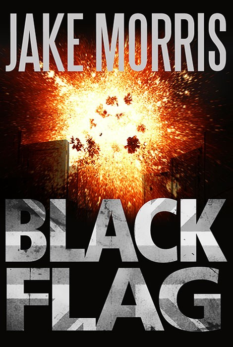 Black Flag book cover design