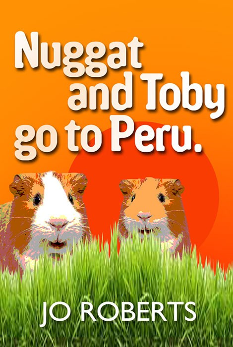 Nuggat and Toby go to Peru Ebook cover design