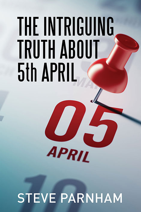The Intriguing Truth about 5th April - Ebook cover design