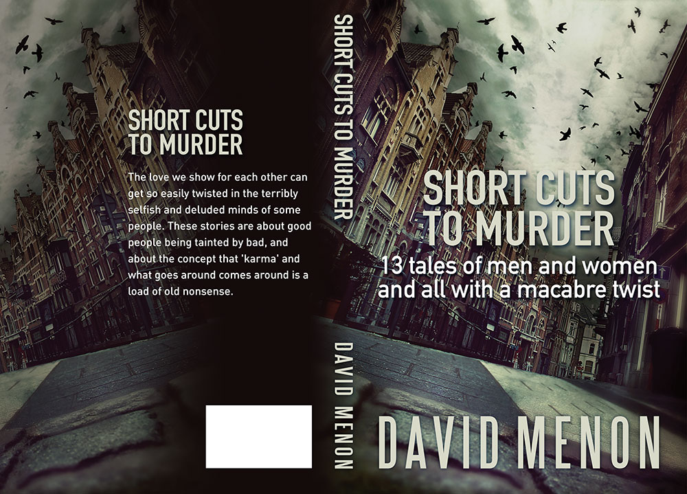 SHORTCUTS TO MURDER cover design